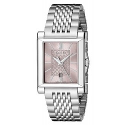 Buy Gucci Ladies Watch G-Timeless Rectangular Small YA138502 Quartz