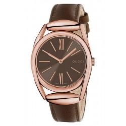Gucci Ladies Watch Horsebit Medium YA140408 Quartz
