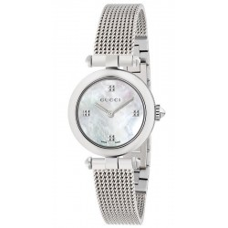 4ce90737c0c Gucci Ladies Watch Diamantissima Small YA141504 Quartz