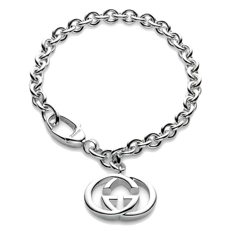 26eecb7b0 -5% Available Soon Buy Gucci Ladies Bracelet Silver Britt YBA190501001019