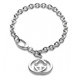 Buy Gucci Ladies Bracelet Silver Britt YBA190501001020