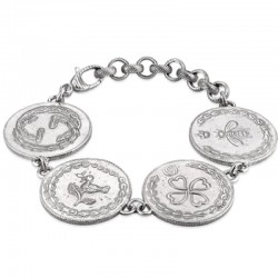 Buy Gucci Ladies Bracelet Coin YBA432179001018