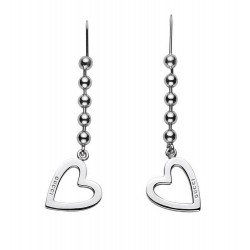 Buy Gucci Ladies Earrings Toggle Heart YBD18144500100U