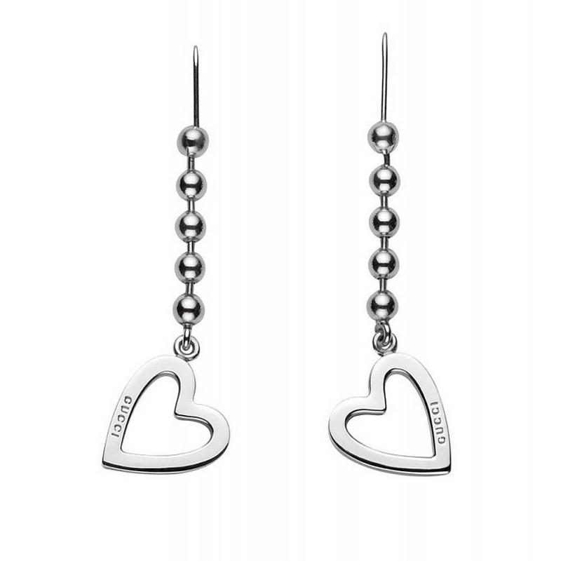 538f90be9 Gucci Ladies Earrings Toggle Heart YBD18144500100U - New Fashion Jewels