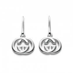 Gucci Ladies Earrings Silver Britt YBD22332100100U