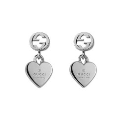 Gucci Ladies Earrings Trademark YBD35625400100U