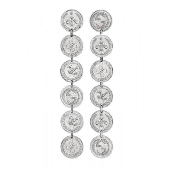 Buy Gucci Ladies Earrings Coin YBD43348700100U