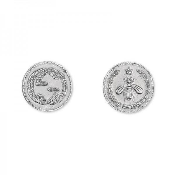 Buy Gucci Ladies Earrings Coin YBD43349600100U