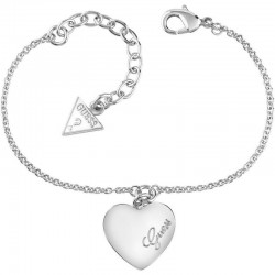 Buy Guess Ladies Bracelet Heartbeat UBB61043-S