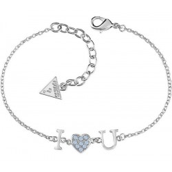 Buy Guess Ladies Bracelet Kiss & Love UBB61095-S