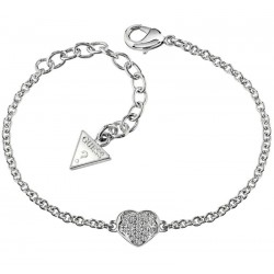 Buy Guess Ladies Bracelet Heartshelter UBB71518-S