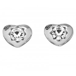 Buy Guess Ladies Earrings Crystals Of Love UBE51415