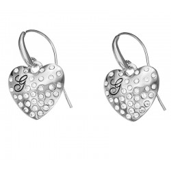 Buy Guess Ladies Earrings Glossy Hearts UBE51433