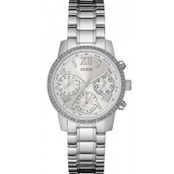 Guess Ladies Watch Mini Sunrise W0623L1 Chrono Look Multifunction