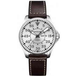 Hamilton Men's Watch Khaki Aviation Pilot Day Date Quartz H64611555