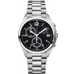 Hamilton Men's Watch Khaki Aviation Pilot Pioneer Chrono Quartz H76512133