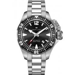 Hamilton Men's Watch Khaki Navy Frogman Auto H77605135