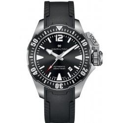 Hamilton Men's Watch Khaki Navy Frogman Auto H77605335