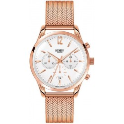 Buy Henry London Unisex Watch Richmond HL39-CM-0034 Chronograph Quartz