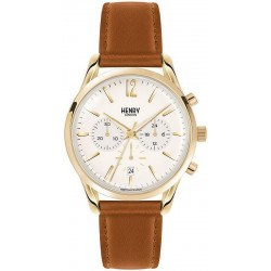 Buy Henry London Unisex Watch Westminster HL39-CS-0014 Chronograph Quartz