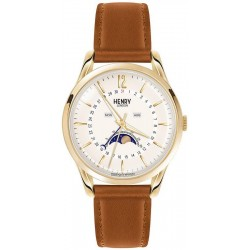 Buy Henry London Unisex Watch Westminster HL39-LS-0148 Moonphase Quartz