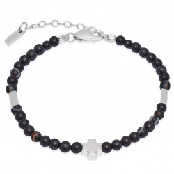 Buy Jack & Co Men's Bracelet Cross-Over JUB0006