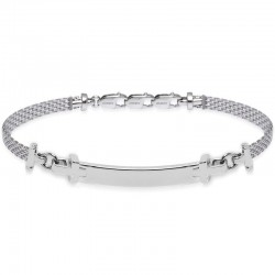 Buy Jack & Co Men's Bracelet Cross-Over JUB0021