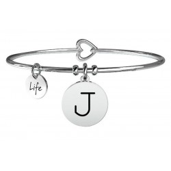 Kidult Ladies Bracelet Symbols Letter J 231555J