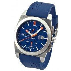 Locman Men's Watch Stealth Quartz Chronograph 020200KBFOR1GOB