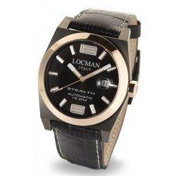 Locman Men's Watch Stealth Automatic 0205GRBKF5N0PSK
