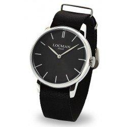 Locman Men's Watch 1960 Quartz 0251V01-00BKNKNK