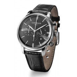 Locman Men's Watch 1960 Quartz Chronograph 0254A01A-00BKNKPK