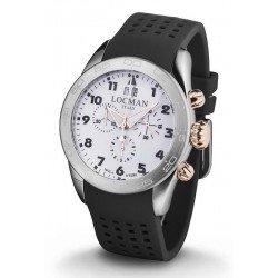 Buy Locman Men's Watch Isola d'Elba Quartz Chronograph 0460M08-0RWHBKSK