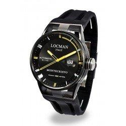 Buy Locman Men's Watch Montecristo Automatic 0511BKBKFYL0GOK