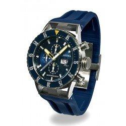 Buy Locman Men's Watch Montecristo Professional Diver Chronograph 051200BYBLNKSIB