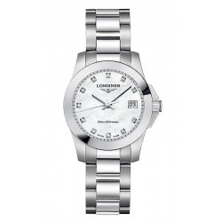 Buy Longines Ladies Watch Conquest Classic L32774876 Quartz