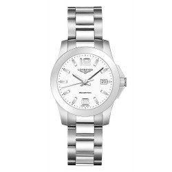 Buy Longines Ladies Watch Conquest L33774166 Quartz