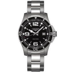 Longines Men's Watch Hydroconquest L36404566 Quartz