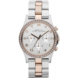 Marc Jacobs Ladies Watch Henry MBM3106 Chronograph