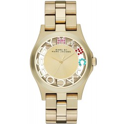 Marc Jacobs Ladies Watch Henry Skeleton MBM3263