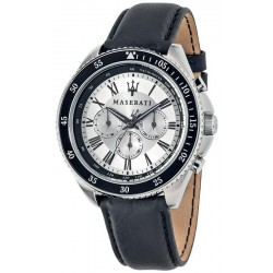 Buy Maserati Men's Watch Stile R8851101007 Quartz Multifunction