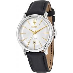 Buy Maserati Men's Watch Epoca R8851118002 Quartz