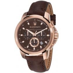 Buy Maserati Men's Watch Successo R8871621004 Quartz Chronograph