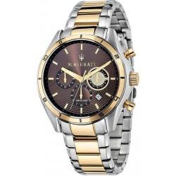 Buy Maserati Men's Watch Sorpasso R8873624001 Quartz Chronograph
