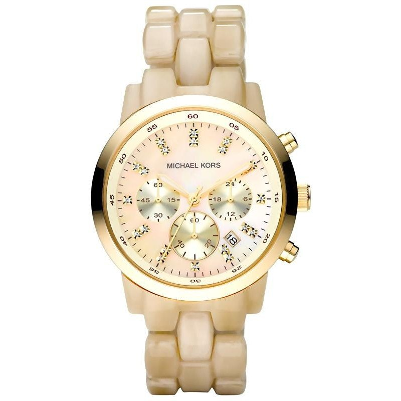 new styles 355bc 64cff Michael Kors Ladies Watch Showstopper MK5217 Chronograph