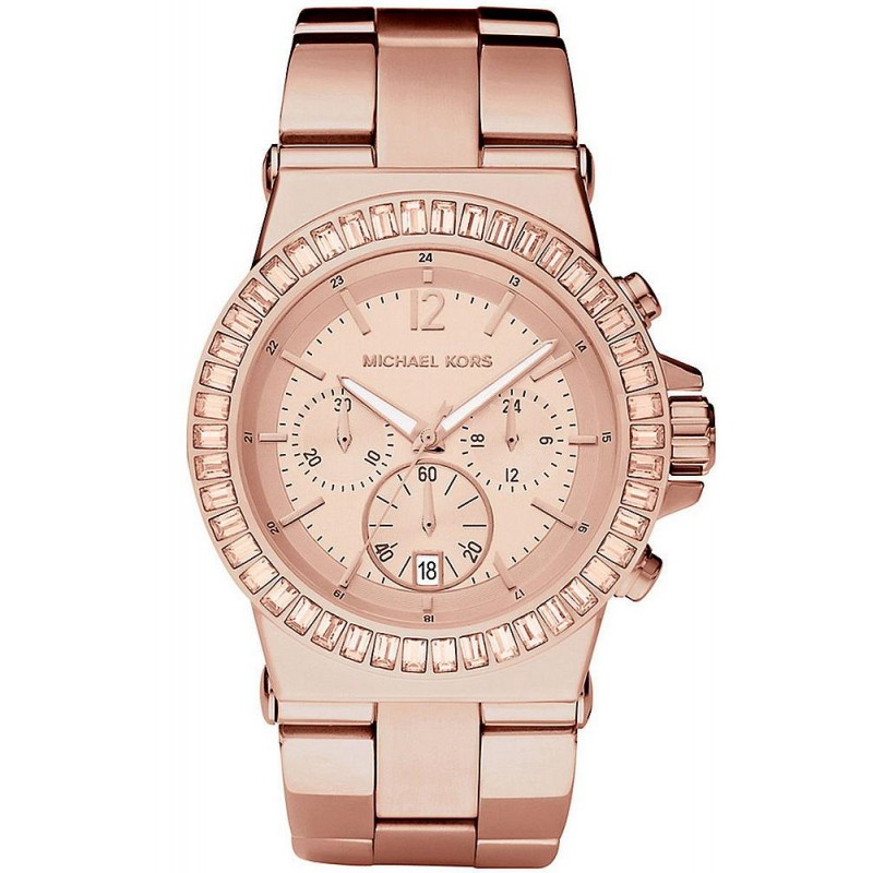 innovative design 531b0 5caf2 Michael Kors Ladies Watch Dylan MK5412 Chronograph