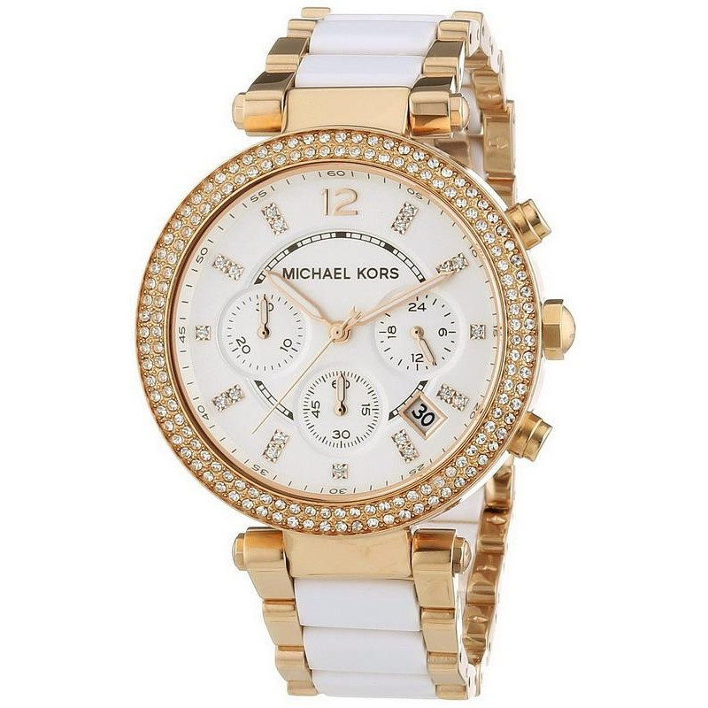 new release on wholesale hot sales Michael Kors Ladies Watch Parker MK5774 Chronograph