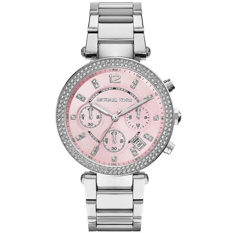 Michael Kors Ladies Watch Parker MK6105 Chronograph New Fashion Jewels