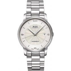 Buy Mido Men's Watch Baroncelli III COSC Chronometer Automatic M0104081103700