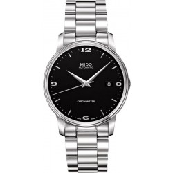Buy Mido Men's Watch Baroncelli III COSC Chronometer Automatic M0104081105190